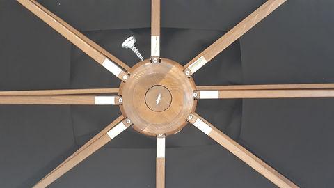 ombrelloni in legno Danieli