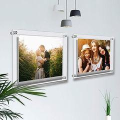 porta foto in plexiglass