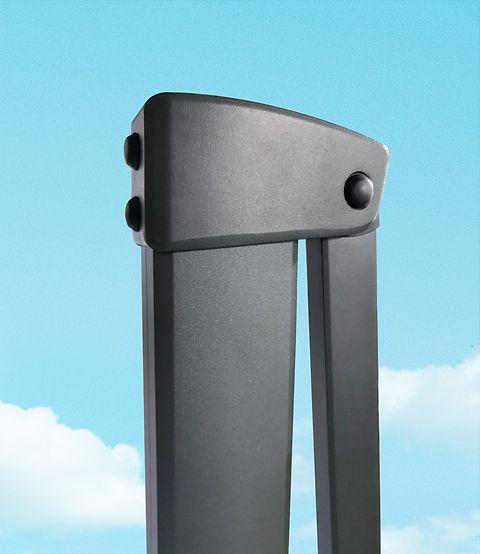 ombrellone in alluminio 3x3