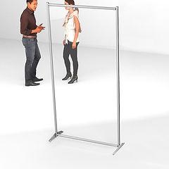 divisori plexiglass