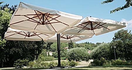 Produzione artigianale ombrellone maxi