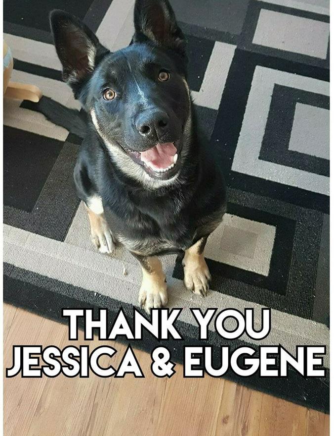 Thank you Jessica & Eugene