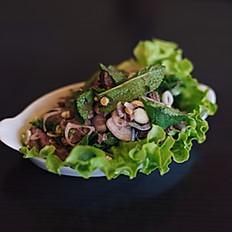 H14 - Salade d'entrecôte à la citronnelle