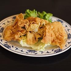H18 - Beignets raviolis crevettes