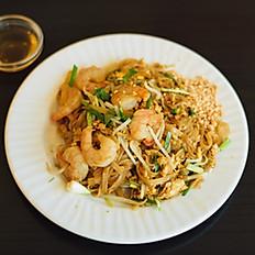 """P1c - Pâtes de riz sautées aux crevettes à la façon """"Thaï"""""""