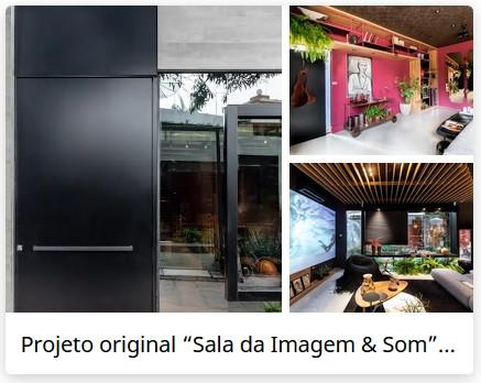 Homify - Sala da Imagem e Som