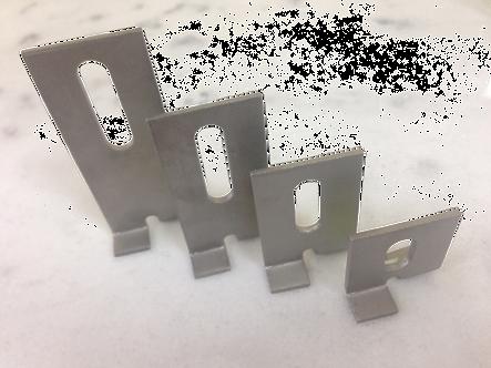 Кляммера для скрытого крепления камня (40-100мм)