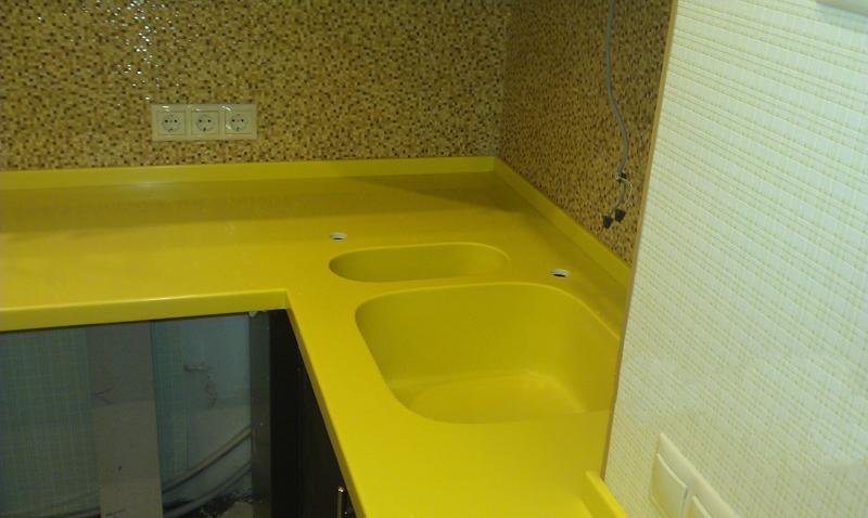 Акрил кислотно-желтый