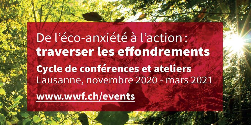 """Cycle de conférences """"De l'éco-anxiété à l'action"""" 3"""