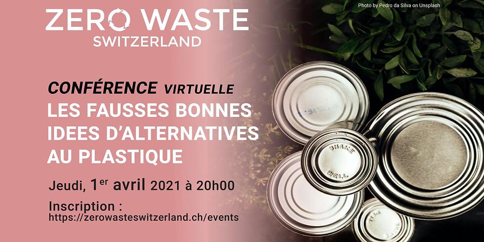 Conférence Zéro Déchet – Démystifier les alternatives au plastique