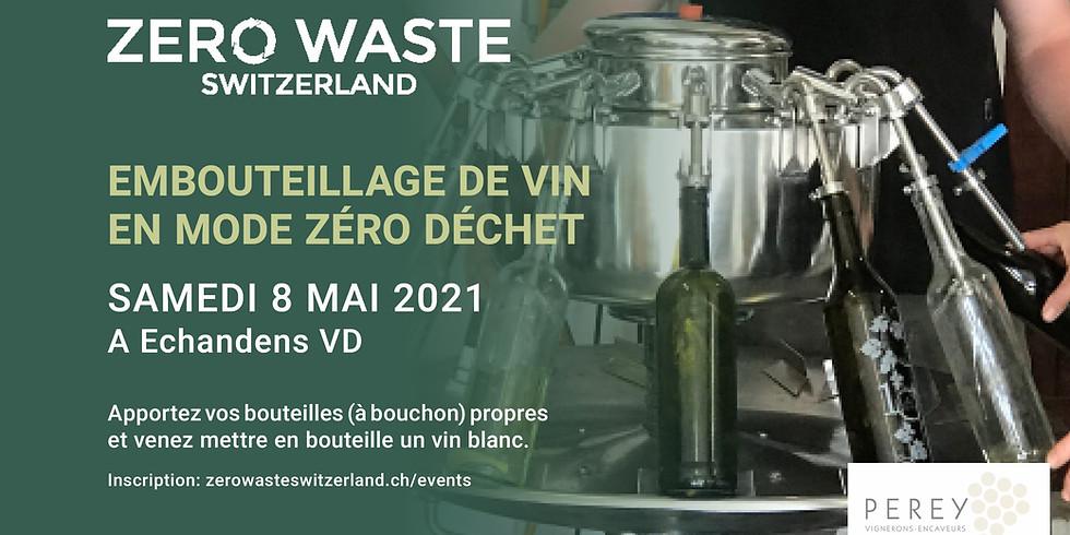 Zerowaste - Embouteillage de vin en mode zéro déchet