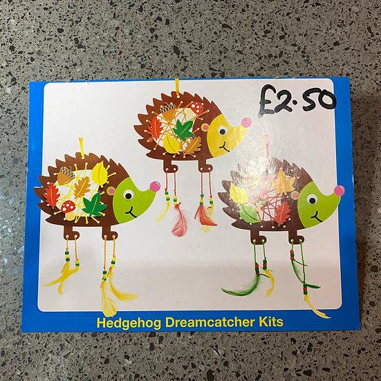 Kids Craft - Hedgehog Dreamcatcher