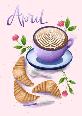 April - Coffee & Pastrie