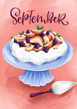 September - Pavlova