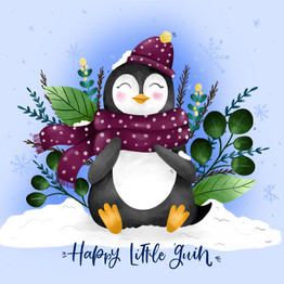 Happy Little Guin