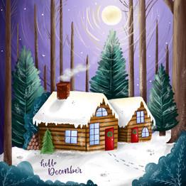 Winter Cabins