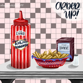 """""""The Diner"""" Ketchup"""