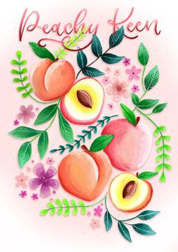 Peachy Keen Jelly Bean