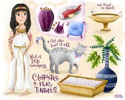 Meet Cleopatra and Mr Tibbles