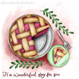 It's a Wonderful Day for Pie