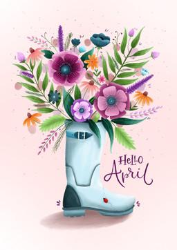 Wellie Florals