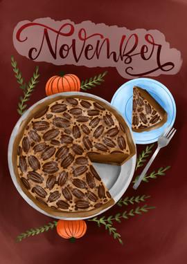 November - Pecan Pie