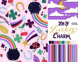 Lucky Charm Baby Apparel Designs