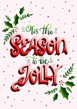 Tis the Season Lettering