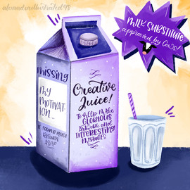 Creative Juice Carton