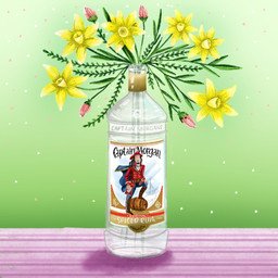 Daffodils Drunken Florals
