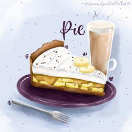 Banoffe Pie & Latte