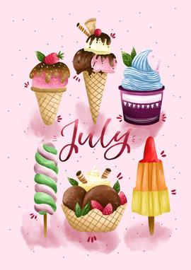 July - The Ice Cream!