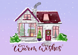 Warm Wishes Christmas House