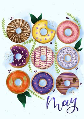 May - Doughnuts