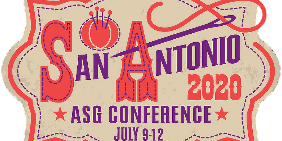 American Sewing Guild 2020 National Conference