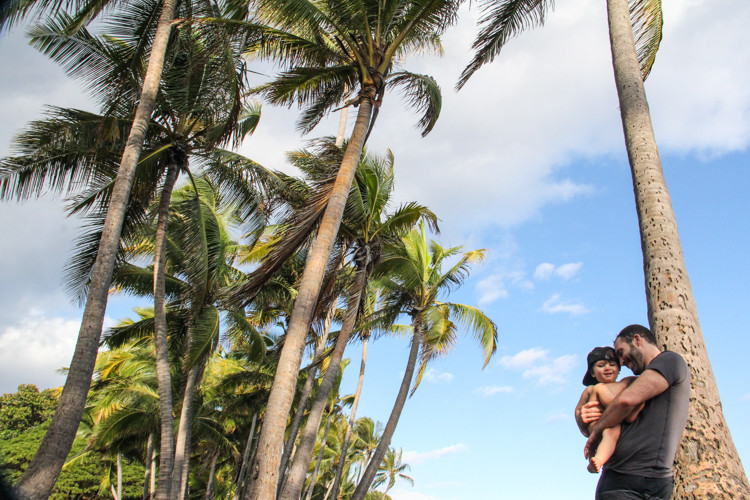 Last minute travel in Hawaii allowed us to choose the island with the best weather