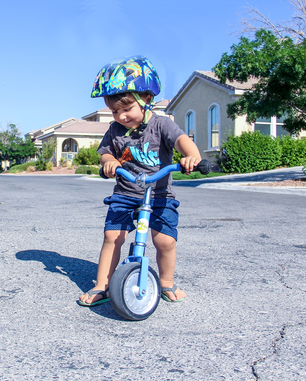 Born a Backpacker is giving away this awesome balance bike!