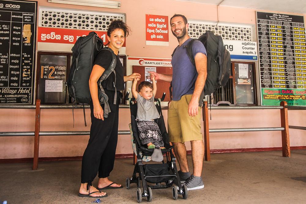 Packing light while backpacking around Sri Lanka