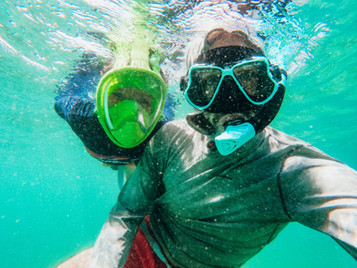 Tips on introducing snorkeling to your child