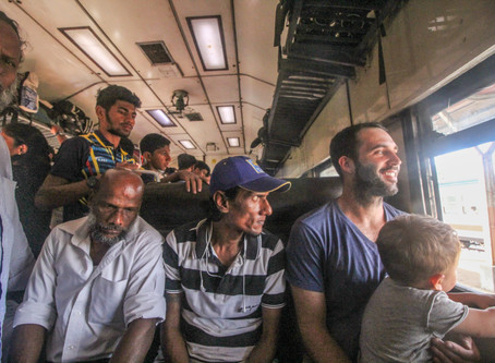 CHALLENGES OF TRAVELING IN SRI LANKA WITH A BABY
