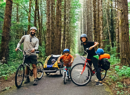 Baby's First Bike Tour: Biking the Banks-Vernonia State Trail