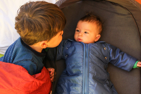 Keeping your baby warm while camping: Baby Deedee product review