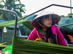 Young woman in Mekong Delta