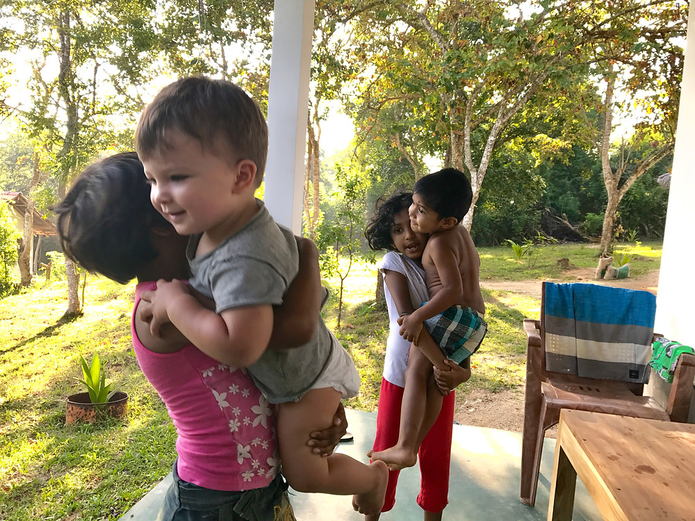 Babies get so much love when traveling in Sri Lanka