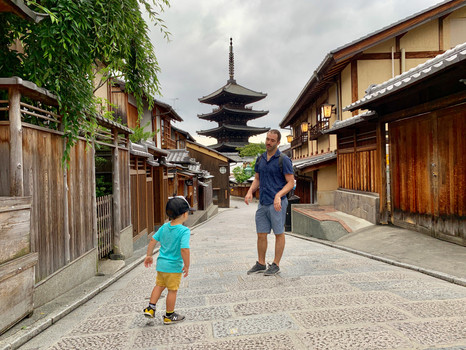Tips for traveling in Japan with kids