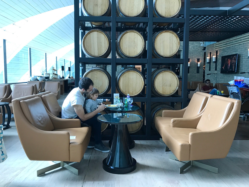 Enjoying Priority Pass in the Dubai Airport