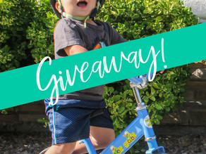 WE'RE GIVING AWAY OUR FAVORITE BALANCE BIKE!