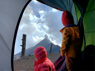 Hiking Volcán Acatenango with Infants and Toddlers