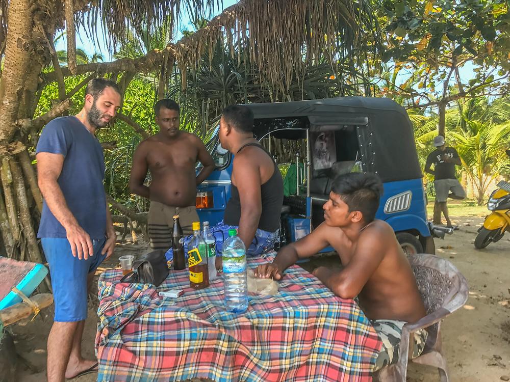 Drinking arrack in Sri Lanka is a must!