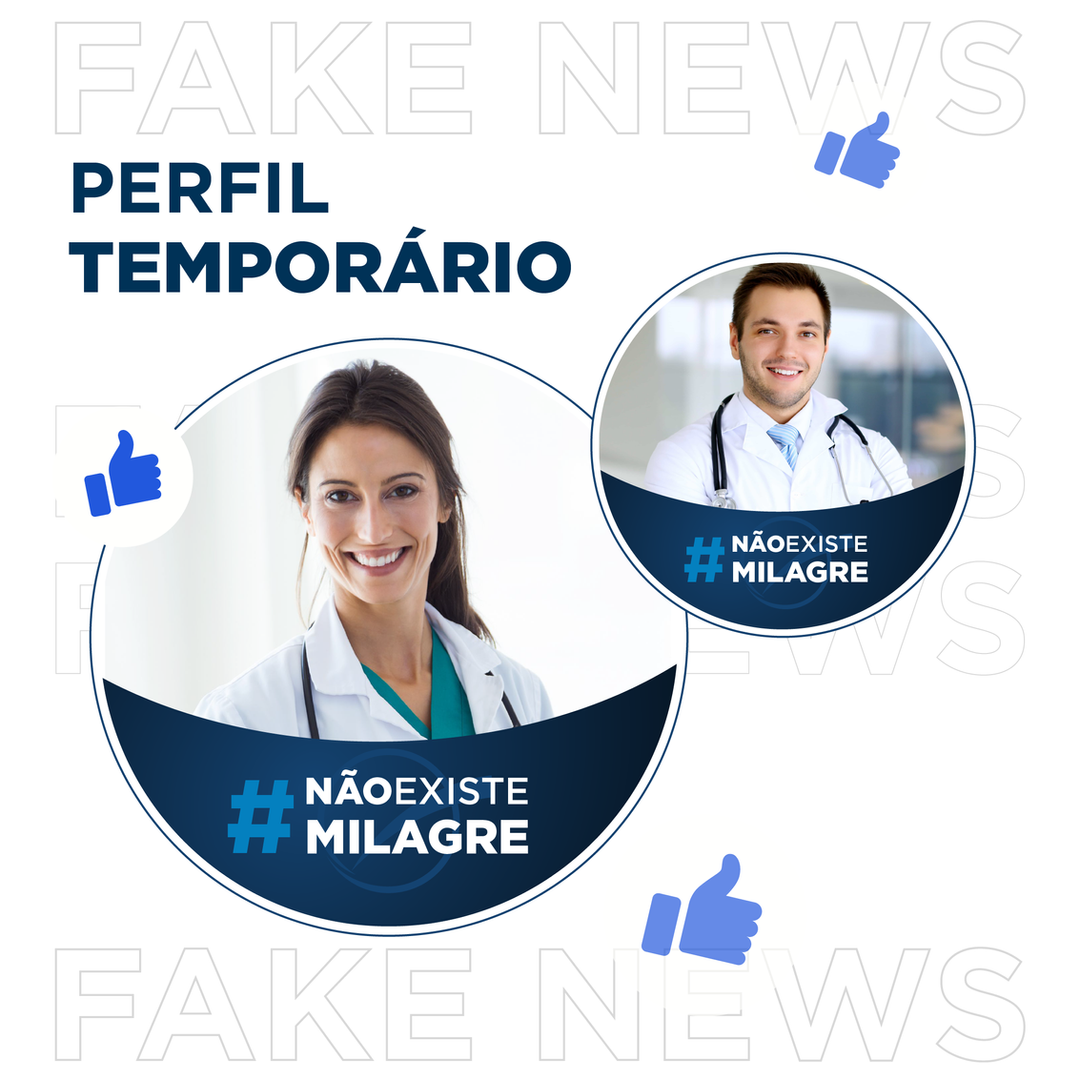 Post Perfil Temporário